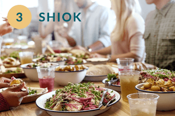 Curated menus from local hawker food to affordable restaurants