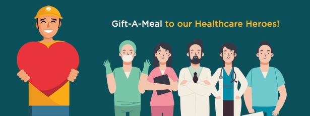 GIFT A MEAL TO OUR HEALTHCARE HEROES